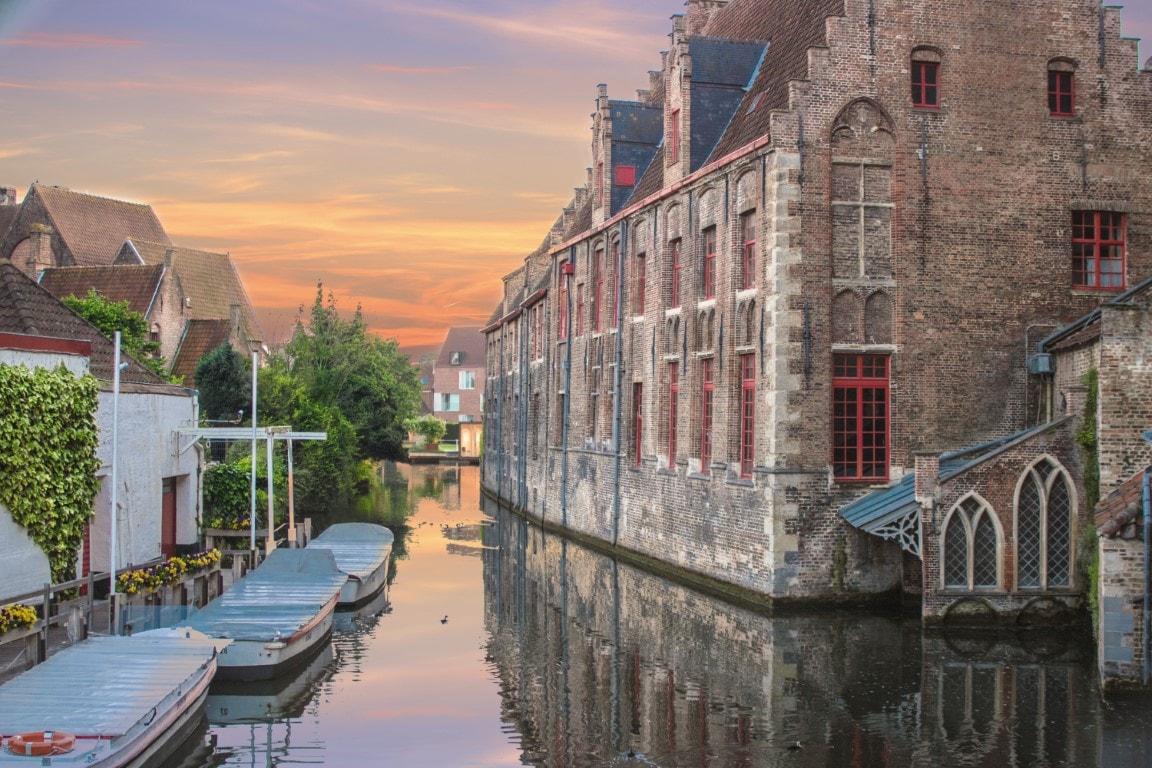 Brugge al Tramonto-min