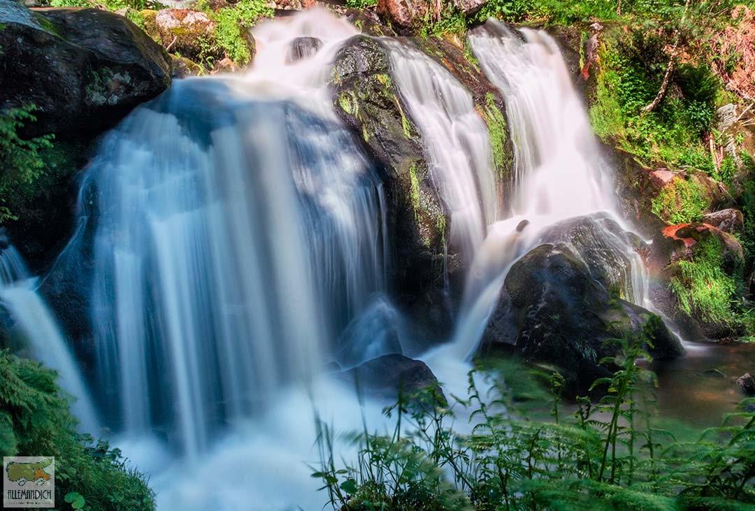 Cascata di Triberg basso